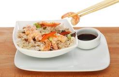 亚洲膳食 免版税库存照片
