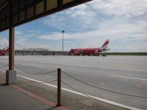 亚洲航空飞机 图库摄影