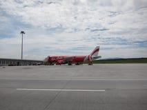 亚洲航空飞机 库存图片