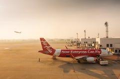 亚洲航空 库存照片