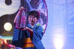 亚洲节日,意大利 免版税图库摄影