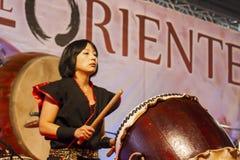 亚洲节日,意大利 免版税库存照片