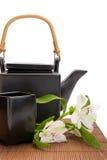 亚洲茶时间 免版税库存图片