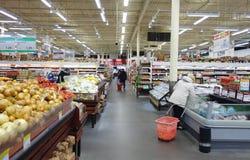 亚洲超级市场 库存图片