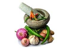 亚洲食品成分 免版税库存照片