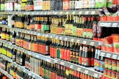 亚洲食品项目 免版税库存图片