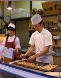 亚洲食物街道样式 免版税库存图片