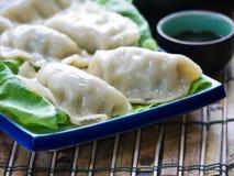 亚洲饺子 免版税图库摄影