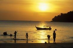 亚洲马来西亚凌家卫岛 库存照片