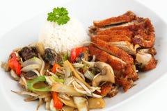 亚洲鸭子肉 免版税图库摄影