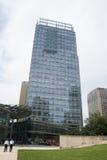 亚洲,中国,北京, CBD中心商务区,复杂国际城市的事务,现代建筑学 库存照片