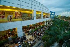 亚洲,马尼拉的购物中心 免版税库存照片