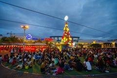 亚洲,马尼拉的购物中心 免版税库存图片