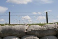 死亡世界大战1富兰德沟槽调遣比利时 免版税图库摄影