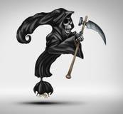 死亡率问题 免版税库存图片