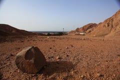 死亡红色沙漠 免版税库存照片