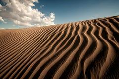死亡谷沙丘 免版税库存照片