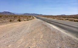 死亡谷沙漠在加利福尼亚 免版税库存照片