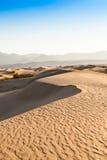 死亡谷沙漠 库存照片
