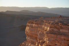 死亡谷,阿塔卡马沙漠,智利 免版税库存照片