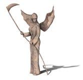 死亡雕象天使  库存例证