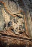 死亡-圣彼得罗天使在Vincoli罗马意大利 免版税库存图片