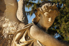 死亡& x28天使; Lychakivs公墓,利沃夫州, Ukraine& x29; 库存照片