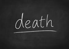 死亡 库存照片