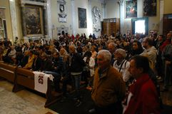 死亡Morosini的记念 免版税库存图片