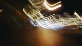 亢奋流逝 舒适下房子晚上浪漫海星街道 影视素材