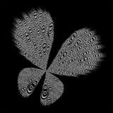 交互选择的蝴蝶 皇族释放例证