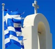 交叉希腊 库存图片