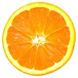 交叉橙色部分 免版税库存图片
