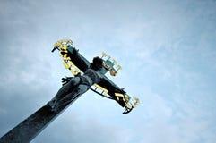 交叉耶稣 免版税图库摄影