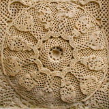 交叉详细资料中世纪石头 免版税图库摄影
