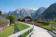 交叉路在奥地利 图库摄影