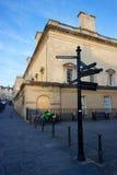 交叉路在巴恩,英国 免版税图库摄影