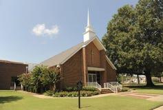 交叉路施洗约翰教堂前面阿灵顿, TN 库存图片