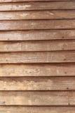 交叠木头做墙壁 背景 免版税库存图片