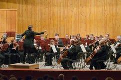 交响乐团 免版税库存照片