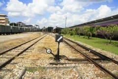 交换选择铁路 库存图片