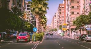交易大气在城市大道的一个连接点 免版税库存图片