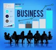 交易起步公司公司概念 免版税库存图片