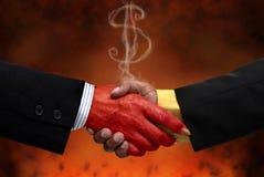 交易 免版税库存图片