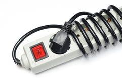 交流电能插座和插口 免版税图库摄影