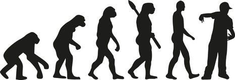 交谈者evoultion音乐 向量例证