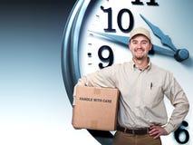 交货时间 免版税图库摄影