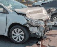 交通不幸事故车祸 库存照片