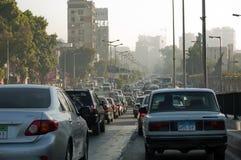 交通和运输在开罗,埃及 库存图片