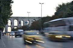 交通在伊斯坦布尔III 免版税库存图片